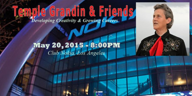 Event 5-20-15: Temple Grandin & Friends